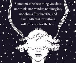 breathe, tiny buddha, and faith image