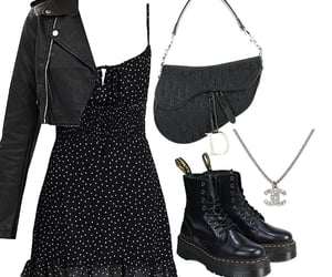 dress, night out, and outfit image