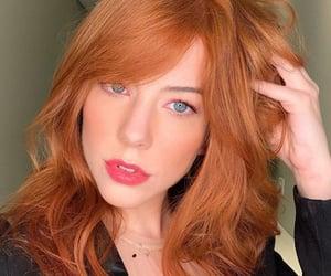 eyes, ginger, and orange hair image