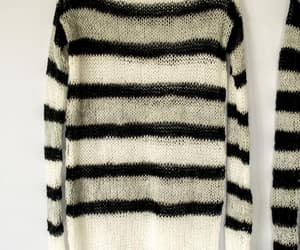 etsy, goth gothic punk, and striped sweater image