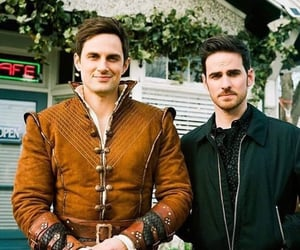 henry, once upon a time, and captain hook image