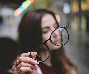 Chica, lentes, and fotografía image