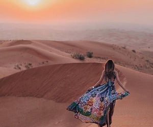 desert, dress, and fashion image