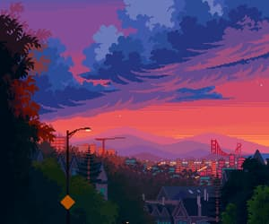 pixel art, san fransico, and artist on tumblr image