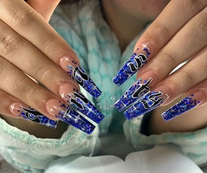 beauty, blue, and claws image