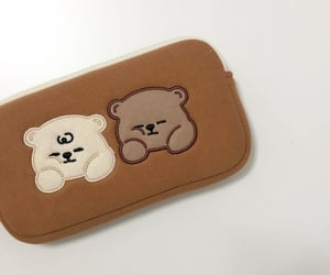 aesthetic, bear, and cute image