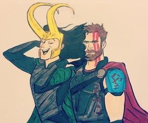 thor, comics, and Marvel image