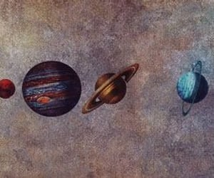 planet, space, and art image