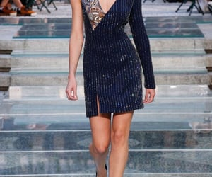 Versace, candice swanepoel, and fashion image