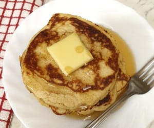 breakfast, cream cheese, and coconut flour image
