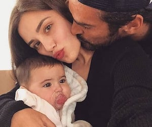 couple, family, and kiss image
