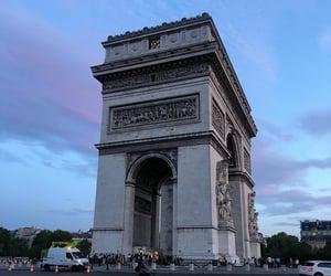 aesthetics, arc de triomphe, and france image
