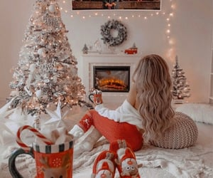 beauty, christmas, and decorations image