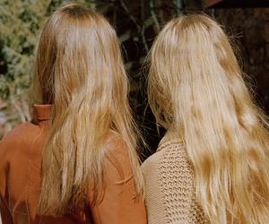 blonde, vintage, and girl image