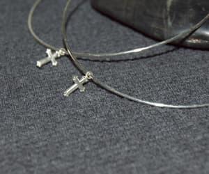 etsy, silver hoop earrings, and silver hoops image