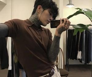 ulzzang, korean, and tattoo image