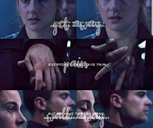aesthetic, insurgent, and allegiant image