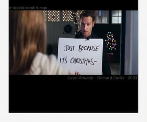 quotes, love actually, and movie quotes image