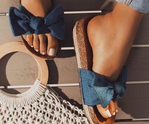 fashion, feet, and girl image