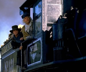 Back to the Future, train, and christopher lloyd image