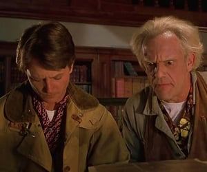 Back to the Future, christopher lloyd, and classic movie image