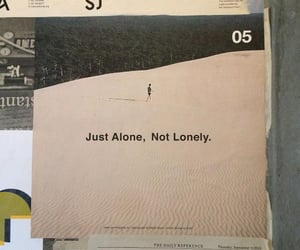 alone, quotes, and aesthetic image