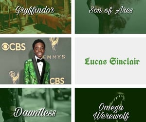 aesthetic, series, and lucas sinclair image