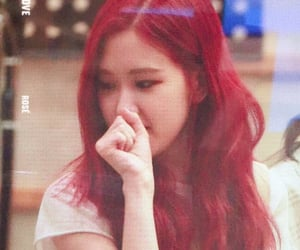 red hair, lq, and blackpink image