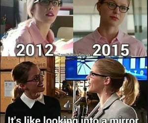 arrow, ponytail, and Felicity image