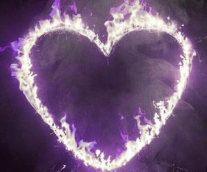heart, theme, and fire image