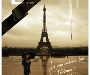 eiffel tower, europe, and fille image
