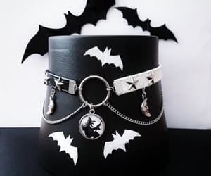 accessories, goth, and chocker image