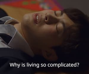 complicated, drama, and korean image