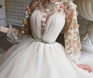aesthetic, fantasy, and drees image