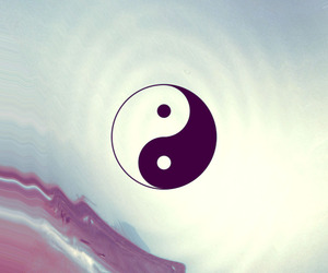 yin yang, wallpaper, and cool image