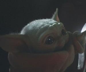 star wars, baby yoda, and cute image