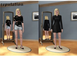 Reputation, rep, and sims 3 cas image