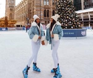 christmas, luxury, and snow image