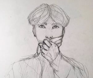 art, bts, and hoseok image