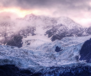 mountain, nature, and snow image