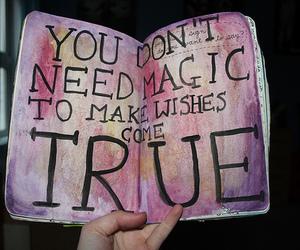 magic, wish, and true image