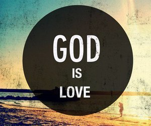god, love, and God is Love image