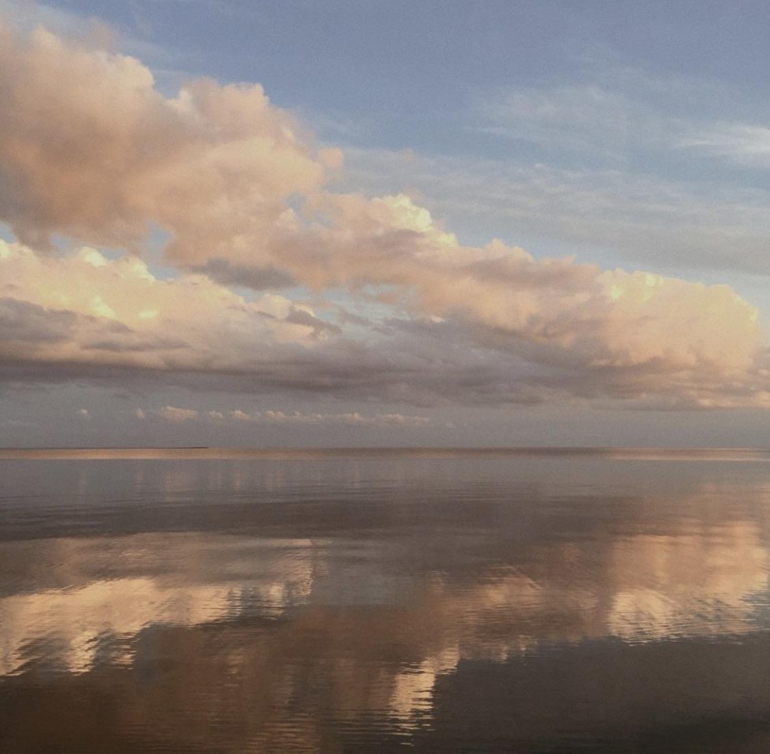 Beige Skies And Beige Sea On We Heart It