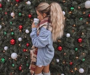 starbucks, christmas, and fashion image