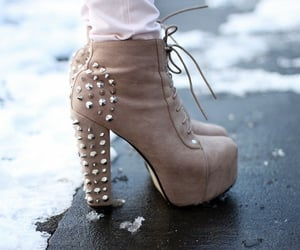 booties, cold, and style image