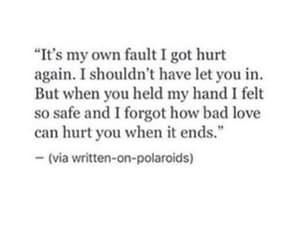 alone, break up, and broken image