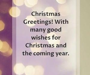 christmas, greetings, and winter image