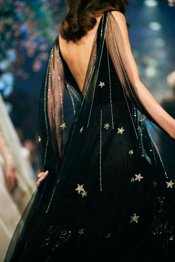 dress, stars, and aesthetic image
