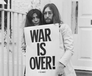 war is over, john lennon, and peace image