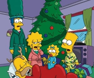 bart, Maggie, and simpson image